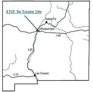 ATSF Tie Treater Site